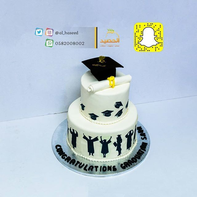 New The 10 Best Dessert Ideas Today With Pictures مبرووووك لكل الخريجين الكل يحتفل بالتخرج مع حلويات الحصيد كيكات تخرج بتصميم Fun Desserts Cake Desserts