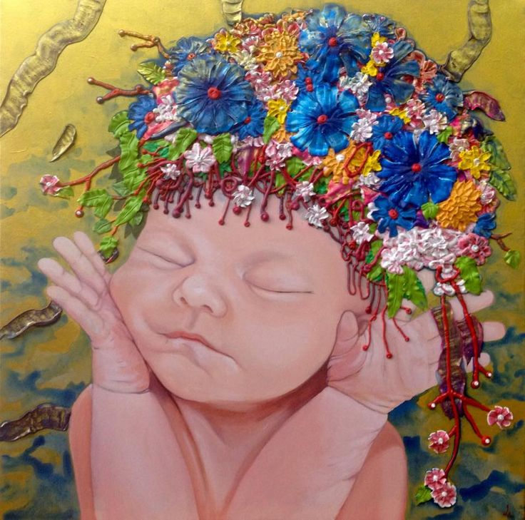 acrylic on canvas 60x60cm. painting by Seaksun.