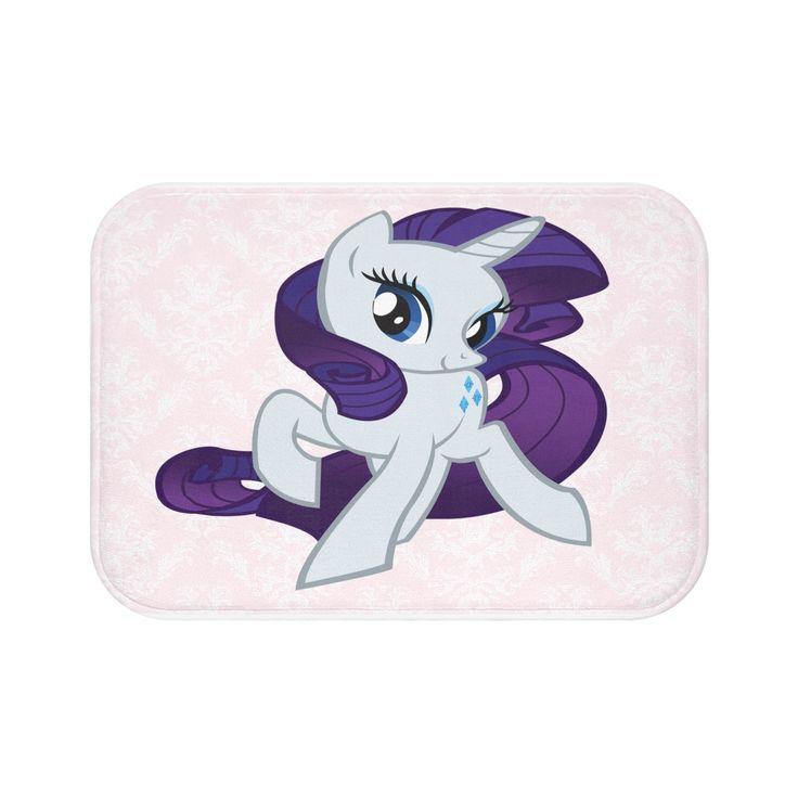 Cute Girl Bath Mat