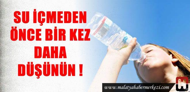 Su içmeden önce bir kez daha düşünün