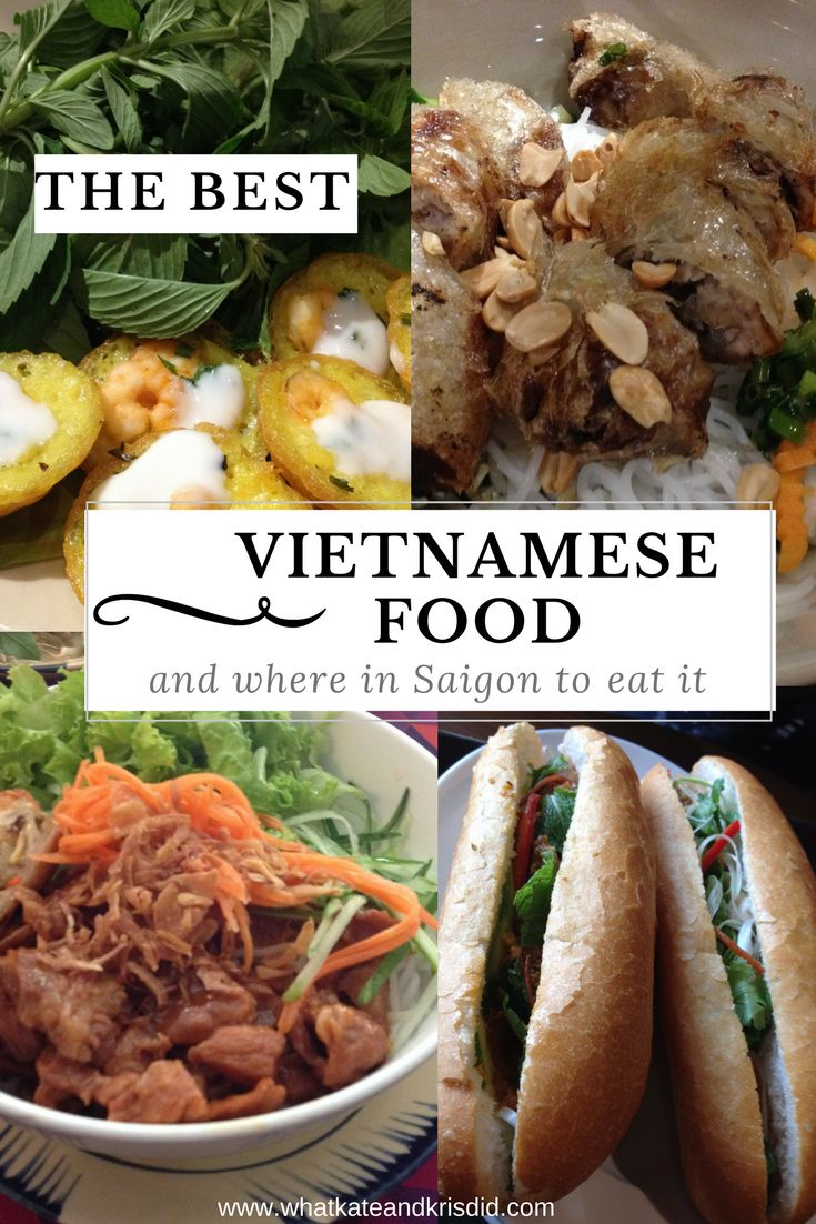 Vietnamese food and where in Ho Chi Minh City to eat it.
