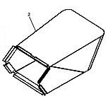 John Deere Grass Bagger Bag - GX23524