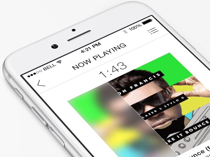 Playback Timeline Design by ramotion.com #UX #UI #iPhone6 #materialdesign #interface #userinterface #userexperience #dirbbble #behance #ramotion