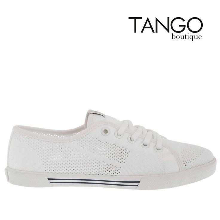 Πάνινο sneaker Pepe Jeans PLS30482 Κωδικός Προϊόντος: PLS30482 white  Για την τιμή και τα διαθέσιμα νούμερα πατήστε εδώ -> http://www.tangoboutique.gr/.../panino-sneaker-pepe-jeans...  Δωρεάν αποστολή - αντικαταβολή & αλλαγή!! Τηλ. παραγγελίες 2161005000