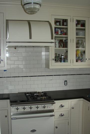 Vintage Range Hood Kitchen Cabinets, Kitchen Styling