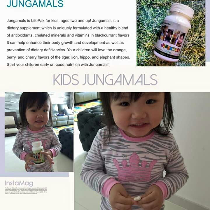 """Claire Claire's favourite """"sweet""""! She will ask her mother to feed her with Jungamals everyday!"""