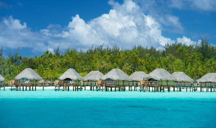 Bora Pearl Beach Resort Spa Hotel Is Surrounded By Beautiful Crystal Blue Water