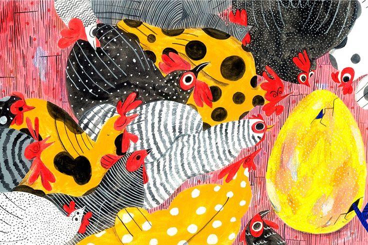 Prace młodej, amerykańskiej ilustratorki Molly Fairhurst kipią wręcz kolorem i wibrują dobrą energią. Jak sama przyznaje stara się uchwycić atmosferę i uczucia związane z danym miejscem lub sytuacją.