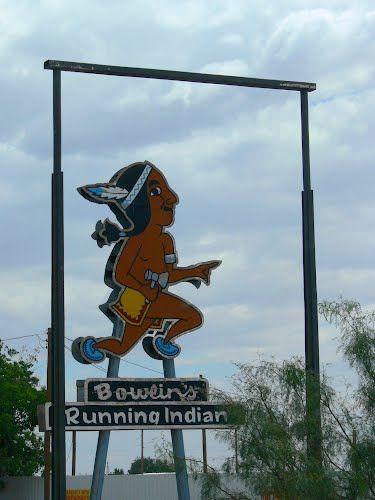 Bowlin's Running Indian, Alamogordo, New Mexico