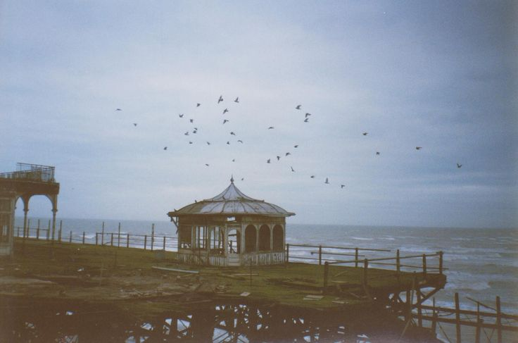 Andy Hebden's pictures of the derelict West Pier taken during a tour in 1995/6.