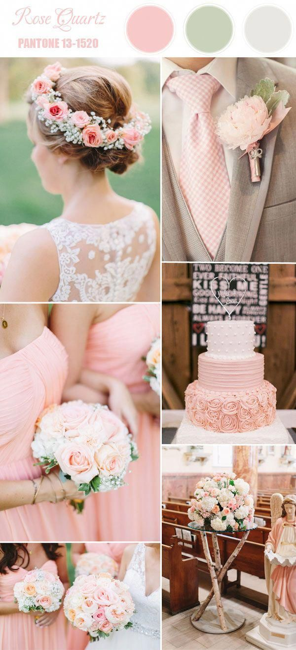 Pantone Top 10 Spring Wedding Colors 2016 in 2018 | Wedding Theme ...