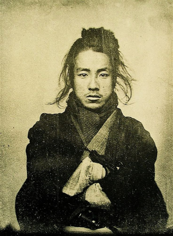Unknown Japanese man, 19th century.   Submitted by thepeacockskirt