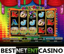 Play for free the Joker Jester video slot by NYX