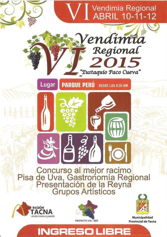 VI Festival de la Vendimia de Tacna