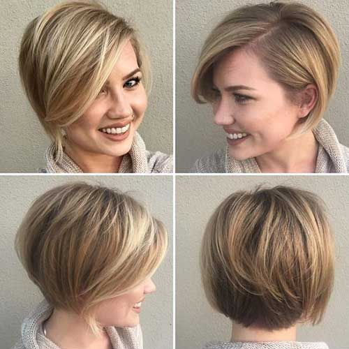 Brilliant Short Straight Hairstyles | http://www.short-haircut.com/brilliant-short-straight-hairstyles.html