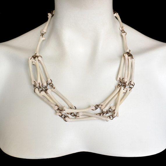 Real Bird Bone Necklace