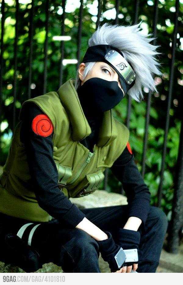 Kakashi Hatake. (Naruto). Cosplay They're doing it