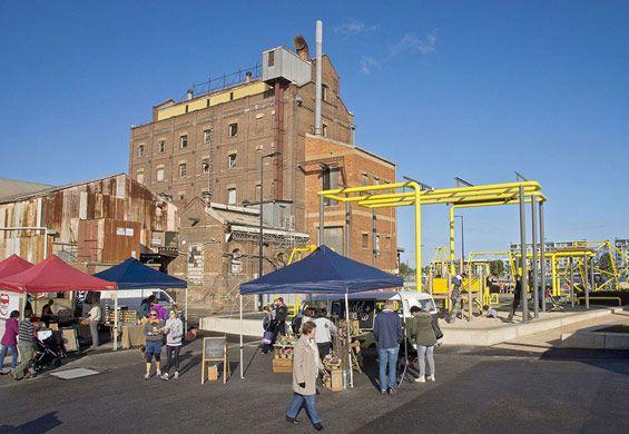 Hart's Mill Surrounds   Port Adelaide, Australia   ASPECT Studios #market on Sundays #playground #australia #landscape #architecture #AspectStudios