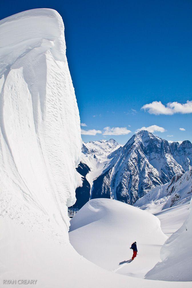 #Icefall_Lodge, Golden, BC   Photo by Ryan Creary   snowzine.com