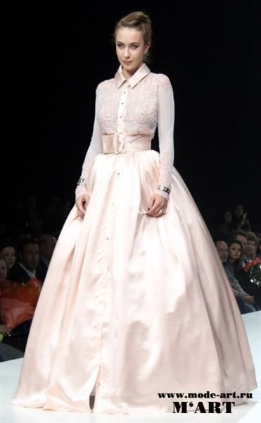 Рубашка под свадебное платье