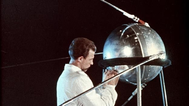10/4/1957  Sputnik launched      http://www.history.com/this-day-in-history/sputnik-launched?cmpid=email-hist-tdih-2016-1004-10042016&om_rid=215826f0296d5a613dbe23a2c91db60ff30e199744e52a41fa14a8f207616902&om_mid=95918062&kx_EmailCampaignID=7414&kx_EmailCampaignName=email-hist-tdih-2016-1004-10042016&kx_EmailRecipientID=215826f0296d5a613dbe23a2c91db60ff30e199744e52a41fa14a8f207616902