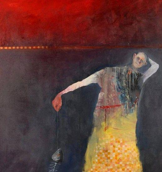 Mel McCuddin, The Elusive Bone Fish 2008, oil on canvas