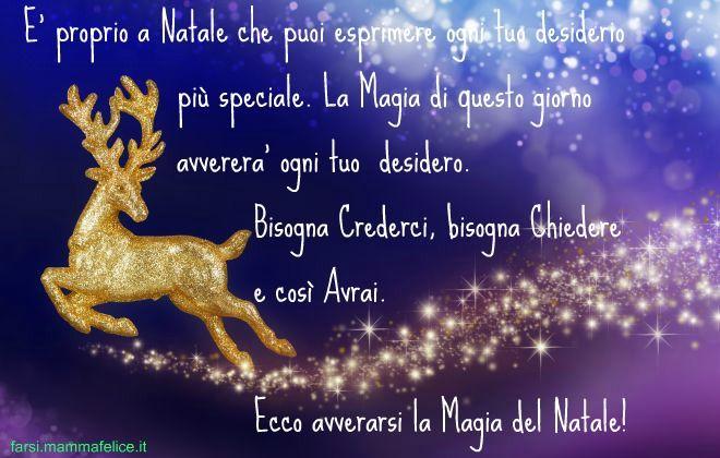 A Natale Puoi Frasi.Frasi Di Auguri La Magia Del Natale Natale Auguri Natale Immagini