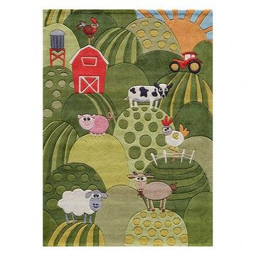 Farm Rug 8x10: Momeni Lil, Baby Quilts, Area Rugs, To Kim, Kids Rugs, Farms Rugs, Lil Mo, Mo Whimsy, Kids Rooms