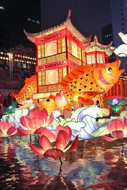 Tumblr: for those who love South Korea;  the Seoul Lantern Festival