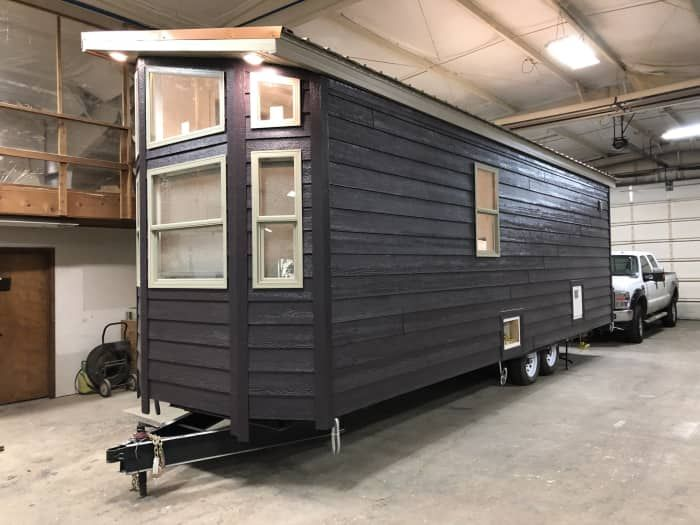 Designer1 Tiny House 8 Wide Tiny House For Sale In Elkhart Indiana Tiny House Listings Tiny House Listings Tiny Houses For Rent Tiny Houses For Sale