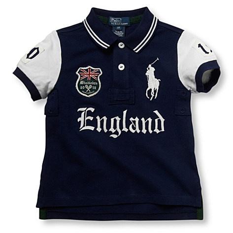 Ralph Lauren  Wimbledon England polo shirt 2-4yrs