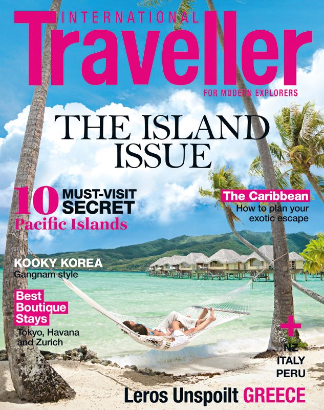 Issue 6 of International Traveller magazine, featuring the 10 must-visit secret Pacific islands