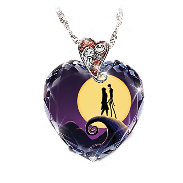 I  NEED!!! We're simply meant to be...  Tim Burton's The Nightmare Before Christmas Pendant Necklace