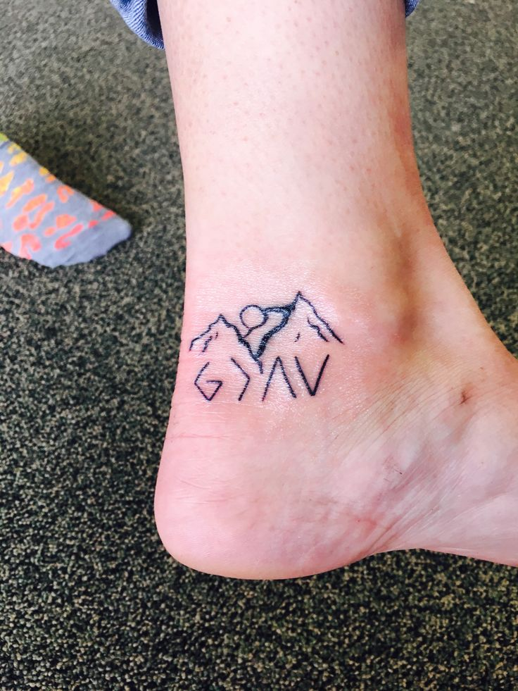 """""""God is greater than the highs and lows"""". From a mistake to a great cover up that means the world to me and reminds me of how small I really am in thi…"""