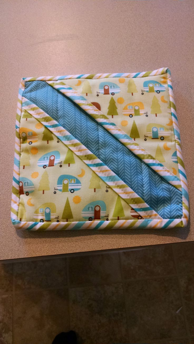 Another camping pot holder!