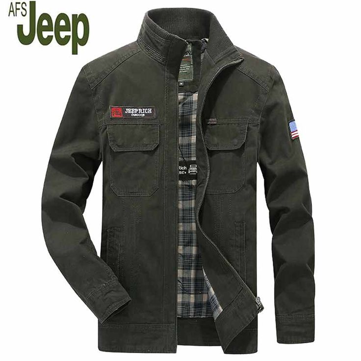 2017 Spring And Autumn New Men's Jacket Stand Collar Casual Brand Men's Jacket Fashion Slim Men's AFS JEEP Jacket 178 #Affiliate