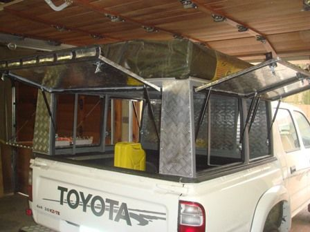How to build steel frame canopy