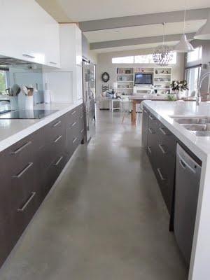 Modern Industrial Country Kitchen