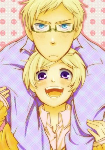 Hetalia-Sweden and Finland. I positivly ADORE this pairing!