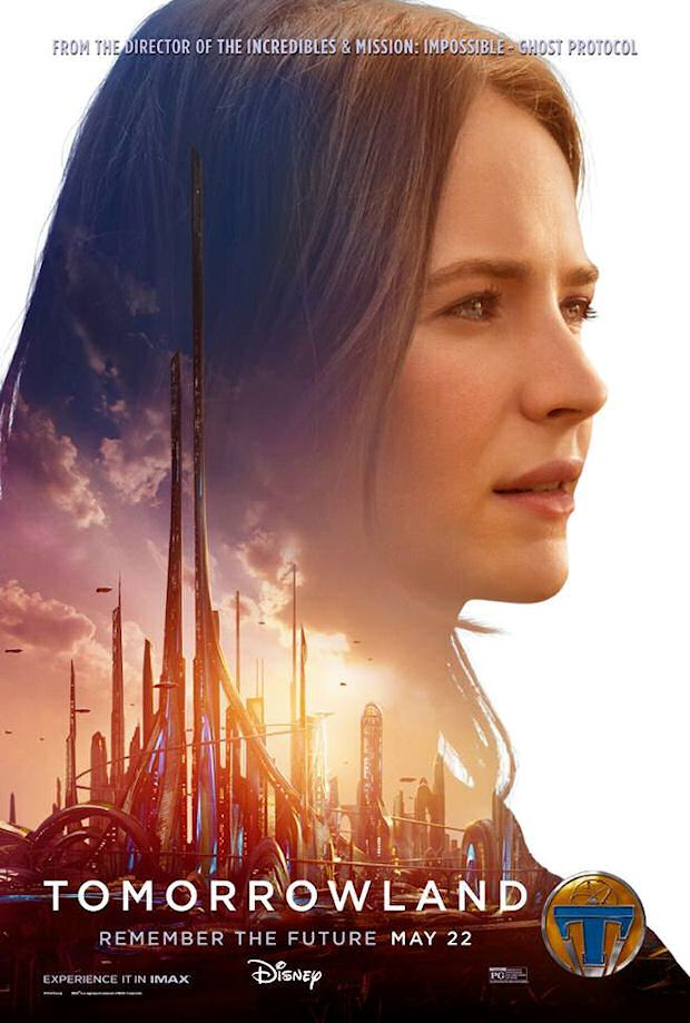 TOMORROWLAND movie (Blu-ray / DVD release date: October 13, 2015)