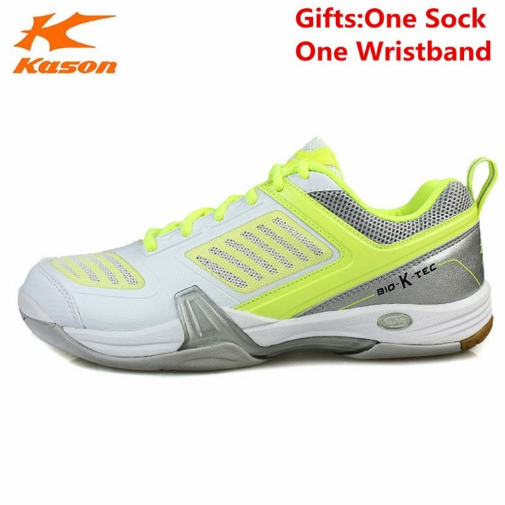 53.49$  Buy here - http://alidjq.shopchina.info/go.php?t=32805617274 - Kason Men's Badminton Shoes Breathable Cushioning Lace-Up Athletic Sneakers Sports Shoe FYZH005 Anti-Slippery L641 53.49$ #buychinaproducts