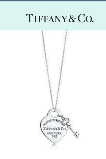 Wow love! Way to go Tiffany and Co!