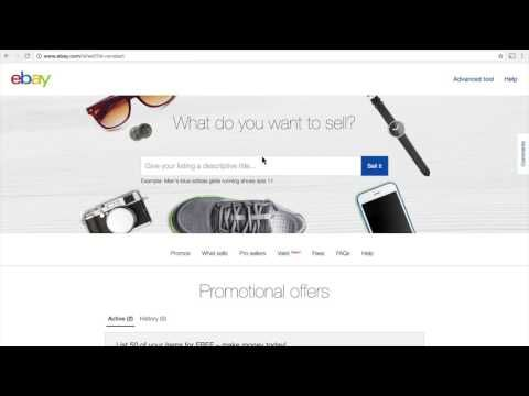 Sell on eBay from any country in the world | Making money