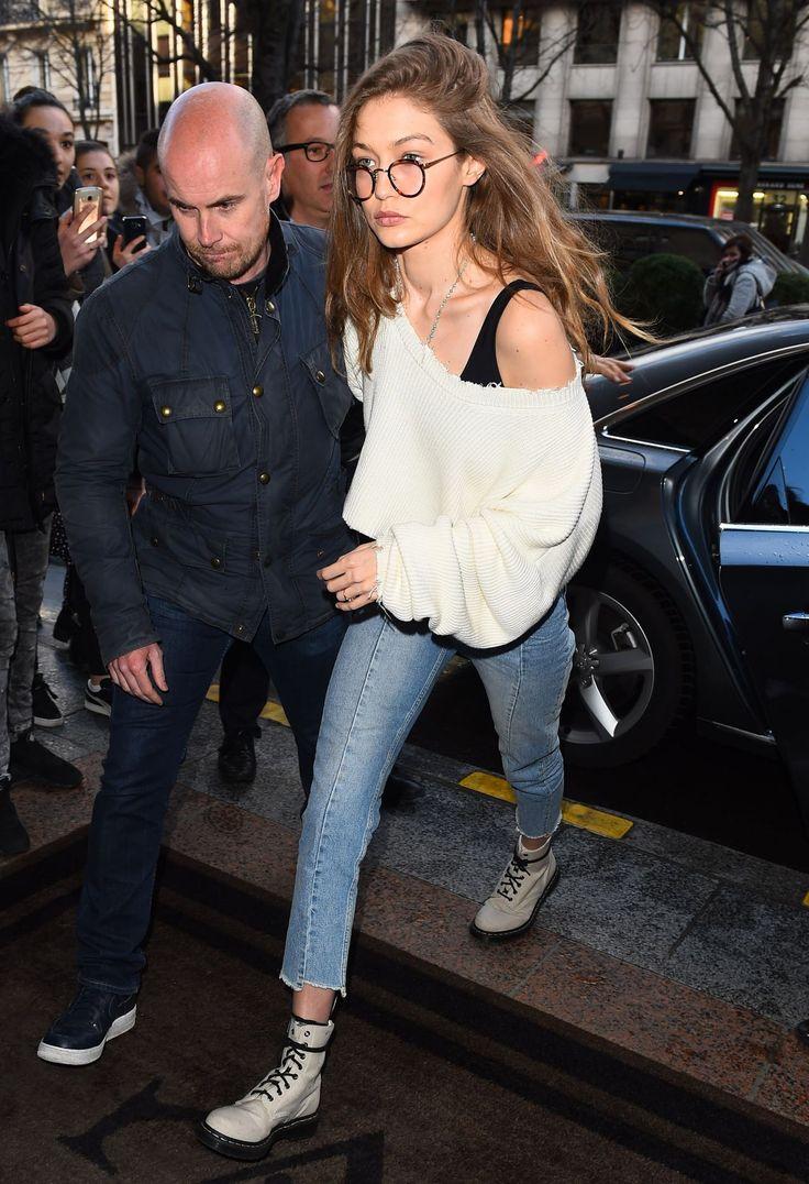 Gigi Hadid  #GigiHadid Out in Paris France 28/02/2017 Celebstills G Gigi Hadid