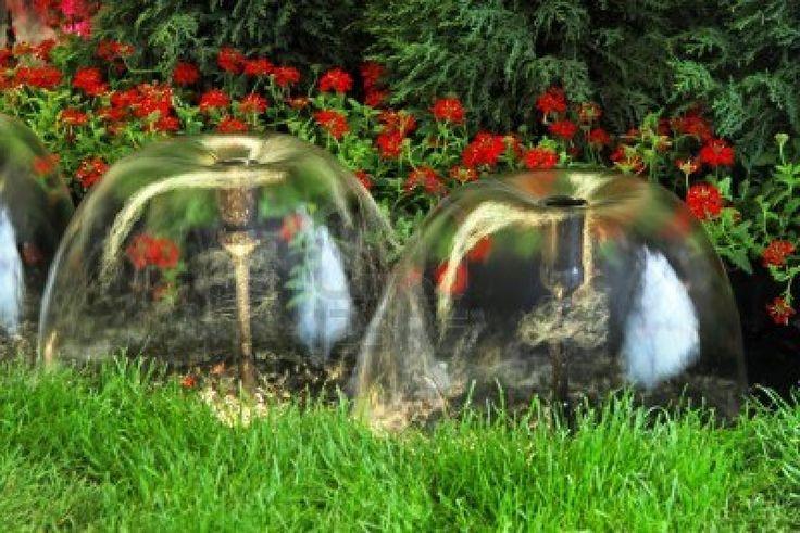 233 best images about centros de flores on pinterest for Fuentes decorativas de jardin