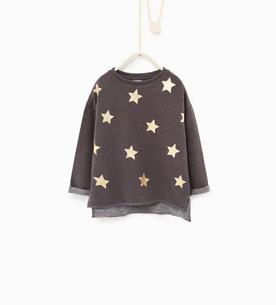 Image 2 of Printed sweatshirt from Zara