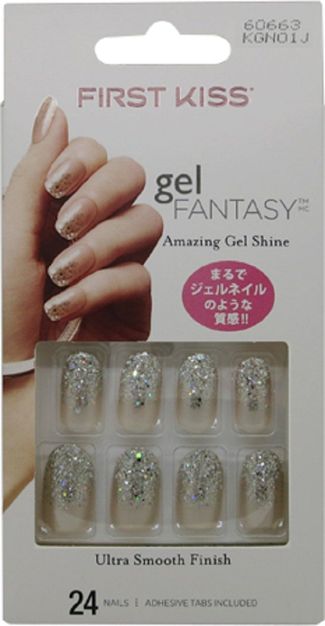 Kiss Gel Fantasy Nails Fanciful 1er Pack 1 X 24 Stuck In 2020 Nails