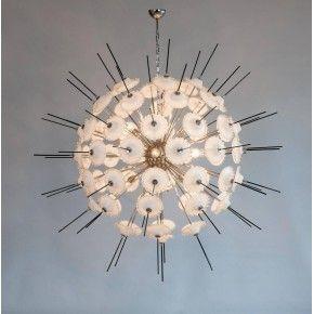 Italian Venetian Sputnik Chandelier in Murano Glass, 1970s