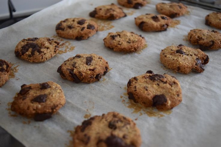 Healthy baking: Chocolate Chip Cookies