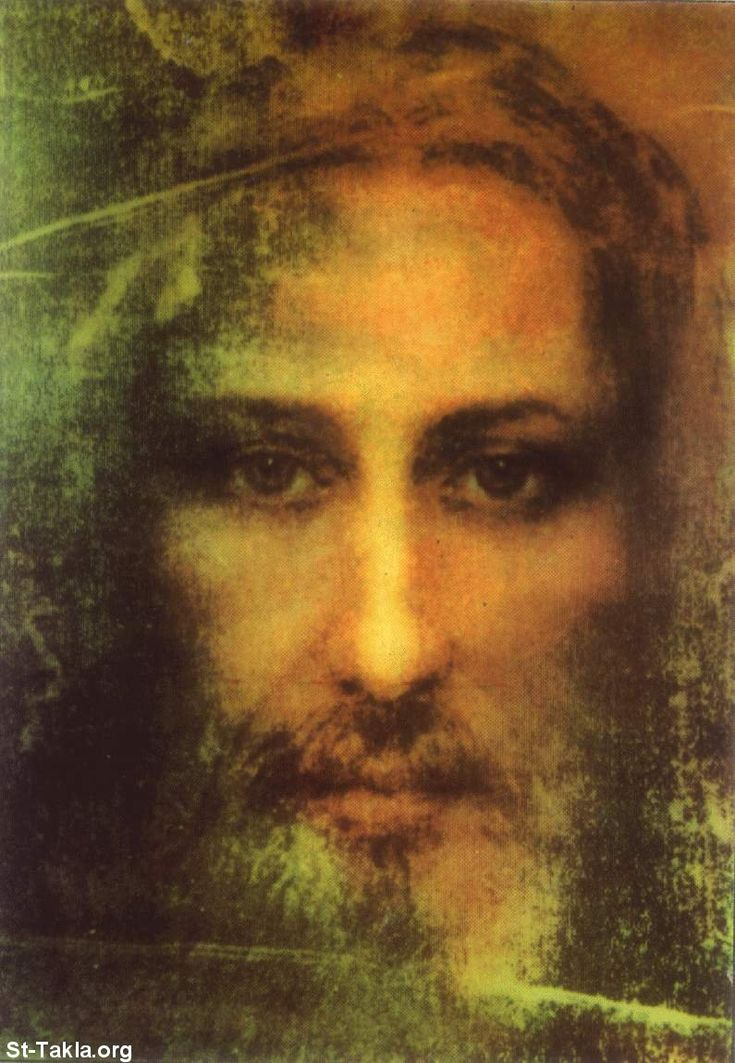 "Reconstructed face from the Shroud of Turin. This is real close to a personal vision I had while singing the third verse of ""You Are So Good To Me""... ""Poured out all Your blood... You died upon aa cross... You are My Jesus Who loves me"". I couldn't finish singing that verse during this vision. I was overwhelmed by His understanding and love. Al"
